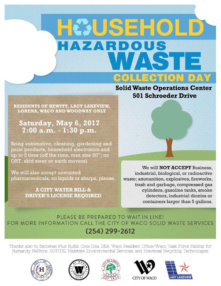 Hazordous Waste Collection Day 2017