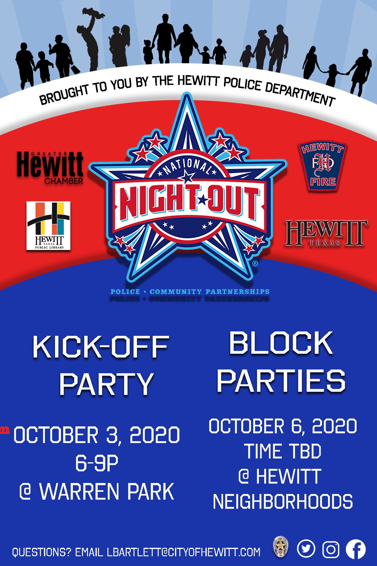 October NNO Flyer
