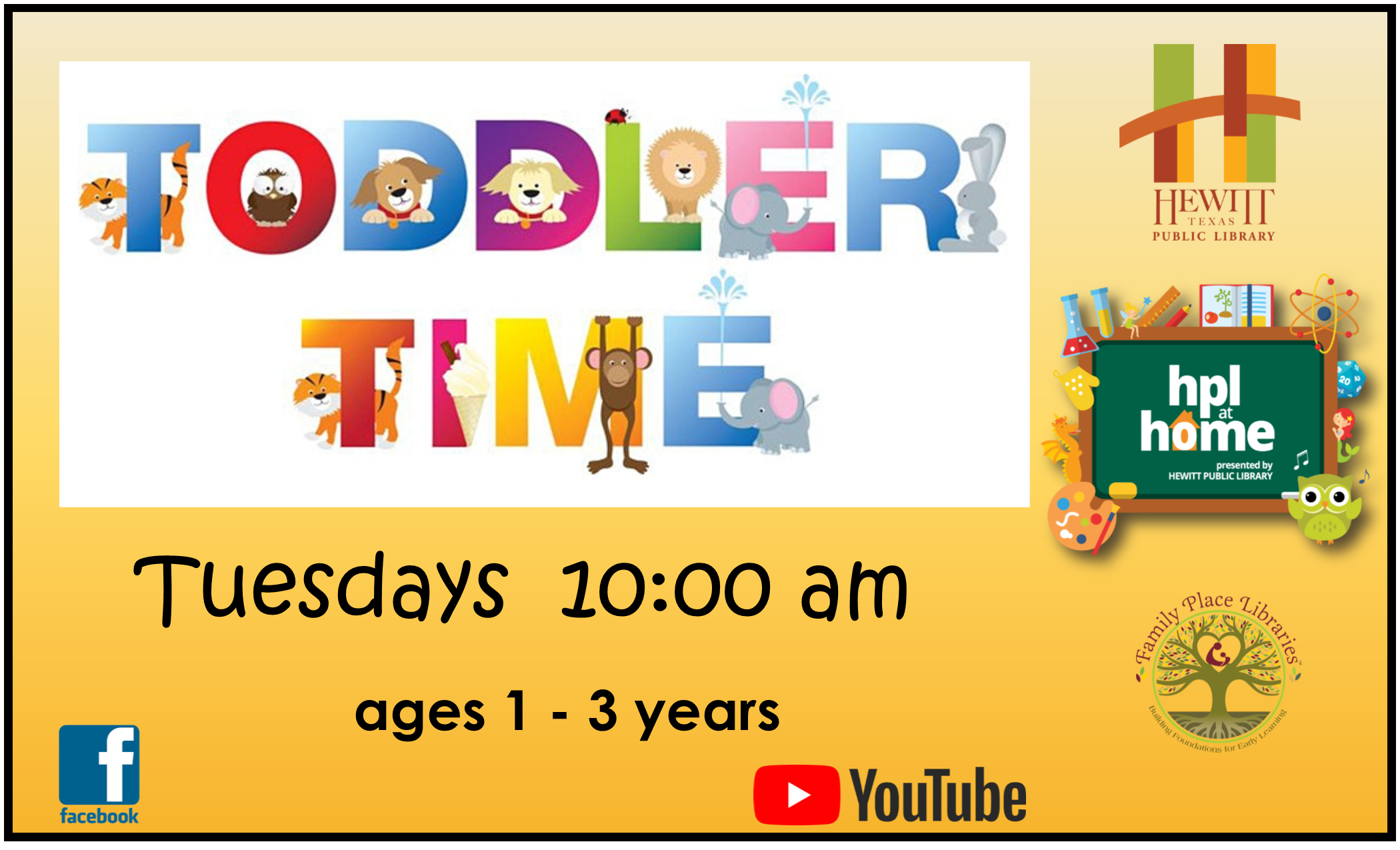 Toddler Time Ad