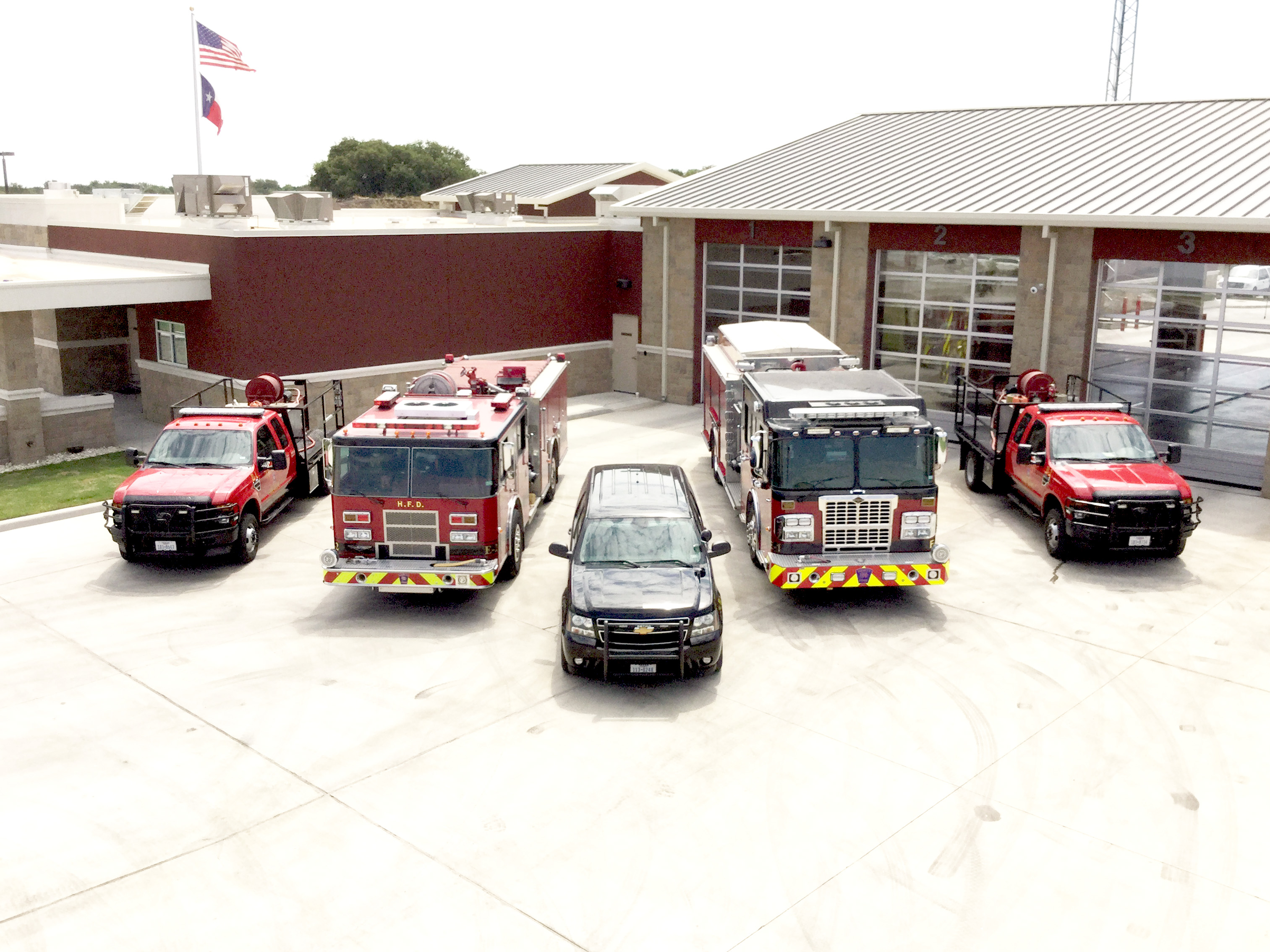 Fire Trucks at HPSF