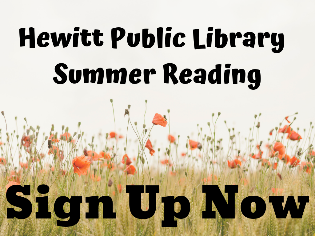 Hewitt Public Library Summer Reading